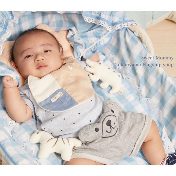 ベビー ガラガラ ギフト 汗パッド スタイ ソックス|sweet-mommy|06