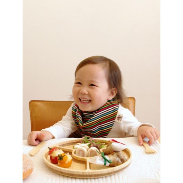 お食い初め 食器セット 名入れあり ベビー食器 竹食器 てんとう虫プレートセット プレートカトラリーセット FUNFAM お届けは2週間程度|sweet-mommy|10