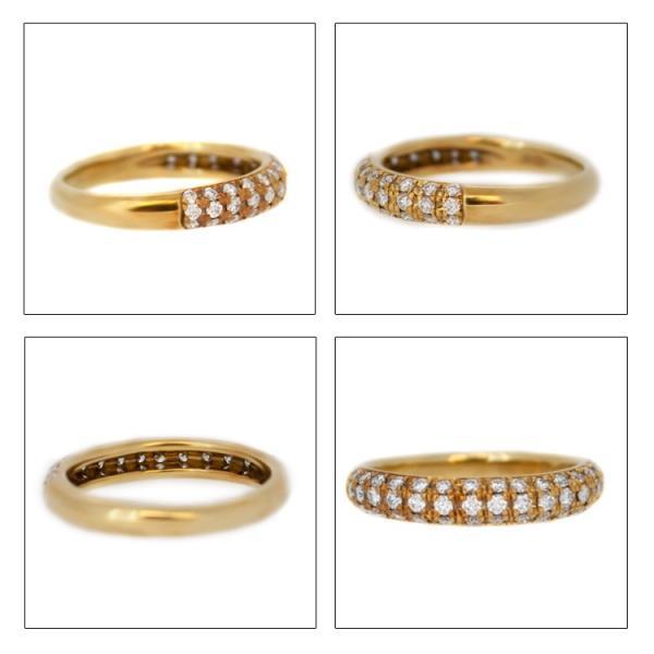 指輪 レディース K18YG イエローゴールド ダイヤモンド 0.50ct ジュエリー アクセサリー リング 送料無料 あすつく対応