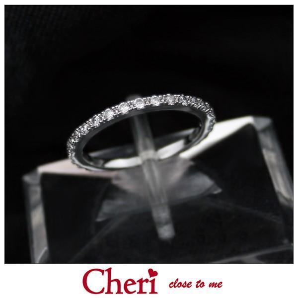指輪 レディース ブランド シェリ Cheri キュービックジルコニア シルバー ジュエリー アクセサリー リング SR36-007
