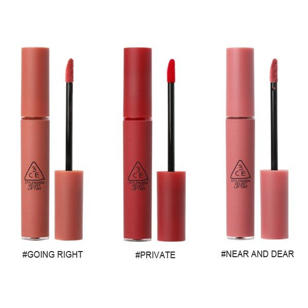 【送料無料】3ce ベルベット リップティント velvet lip tint 口紅 くちびる 落ちない スリーコンセプトアイズ STYLENANDA スタイルナンダ|sweetfashion|05