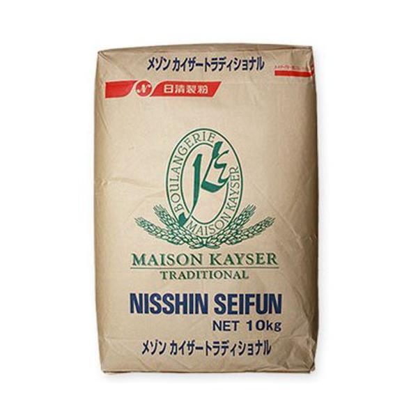 日清製粉 準強力粉 メゾンカイザー トラディショナル 10kg (常温)