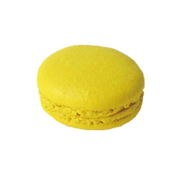 (PB)丸菱 冷凍Mマカロン(解凍後要冷蔵) ミニマカロン  パッションレモン   (小) 直径38mm×30個(冷凍)