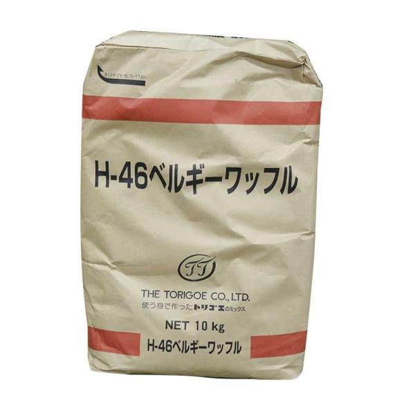 (お取り寄せ商品)鳥越 H46ベルギーワッフル ミックス粉 10kg(常温)