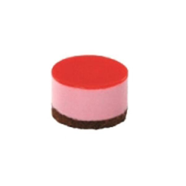 冷凍ケーキ IC ポーションケーキ フランボワーズ 4.5cm 16個入り (冷凍)