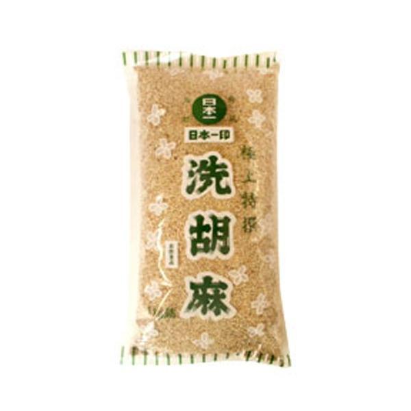 北村商店 業務用 洗い白ごま 1kg (常温)