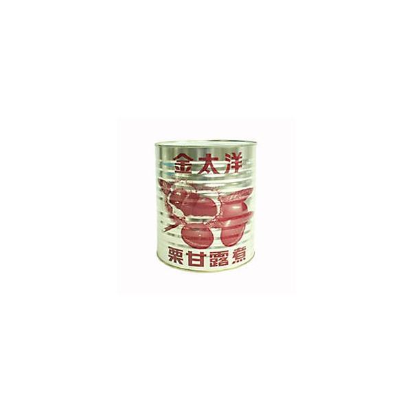 金太洋 極軟マロン 栗甘露煮 1級 S 1号缶 3500g(常温)
