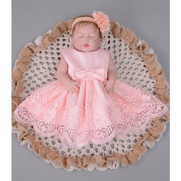 a22340a5b5344 ... 3点セット2018秋ベビードレス 結婚式 お宮参り ベビー用 ドレス 赤ちゃんドレス ...
