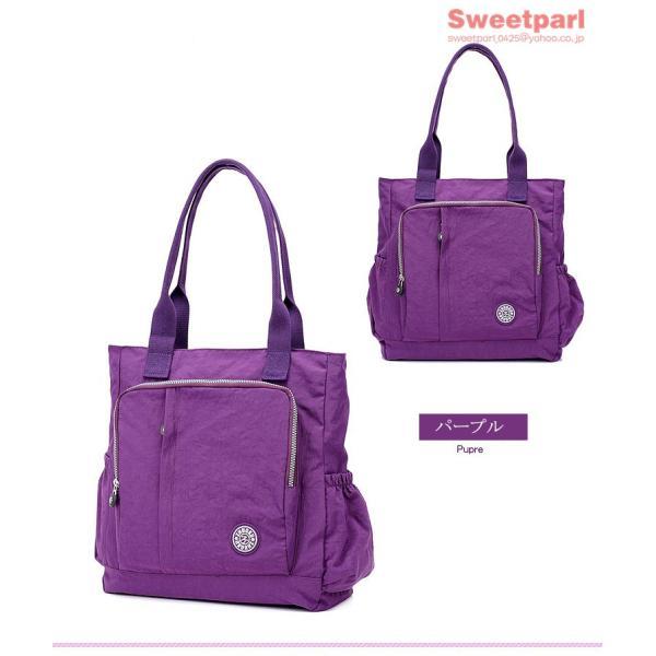 トートバッグ レディース カバン 軽いバッグ ナイロンバッグ 通勤トート ナイロントートバッグ かばん 鞄 大容量 軽量 撥水|sweetparl|16