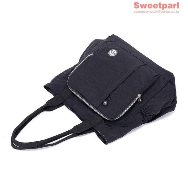 トートバッグ レディース カバン 軽いバッグ ナイロンバッグ 通勤トート ナイロントートバッグ かばん 鞄 大容量 軽量 撥水|sweetparl|10