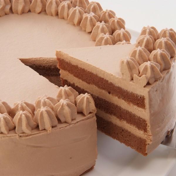 チョコデコ18cmホール【冷凍便】 アレルギー対応 米粉ケーキ 【卵・小麦粉・乳製品持込禁止工房】|sweets-moegi