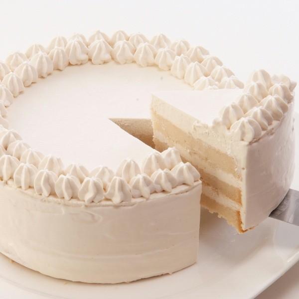 プレーンデコ12cmホール【冷凍便】 アレルギー対応 米粉ケーキ 【卵・小麦粉・乳製品持込禁止工房】|sweets-moegi