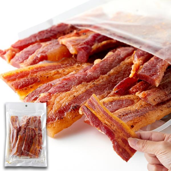 炙り焼き豚バラジャーキー(160g)/豚バラ 豚 肉 豚肉 ジャーキー 炙り 生姜焼き おつまみ 家飲み お弁当 おかず カルパス 燻製 徳用 和食 甘辛 送料無料