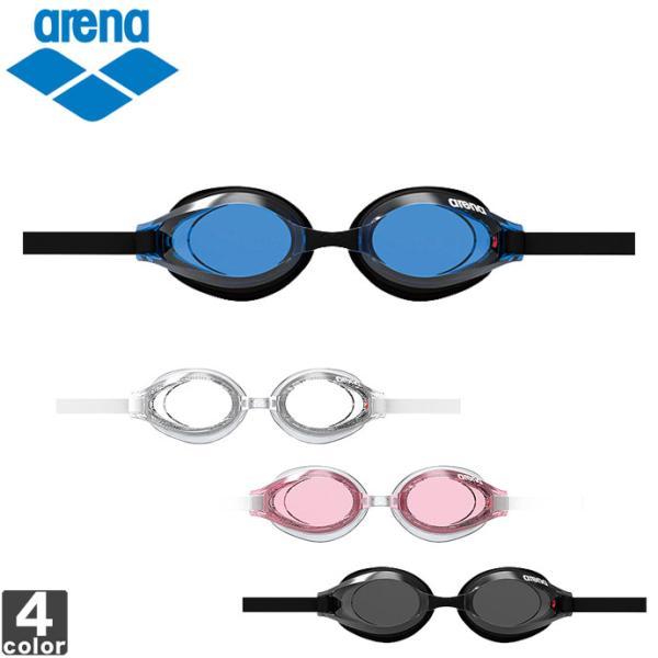 スイミングゴーグル アリーナ arena メンズ レディース シルキー くもり止め スイム グラス AGL-560PA 1602 水泳 競泳 スイミング