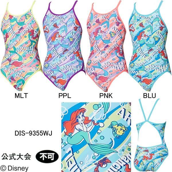 b0fb9e2383b アリーナ(ARENA)女児用 トレーニング水着 ディズニー(アリエル)タフスーツジュニアスーパーフライ