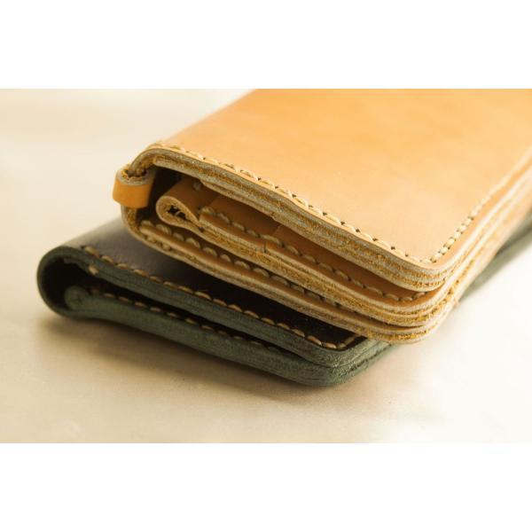 財布 メンズ 本革製 ハンドメイドウォレット 手縫い ビジネス カジュアル兼用使用可能デザイン|swingdog|12