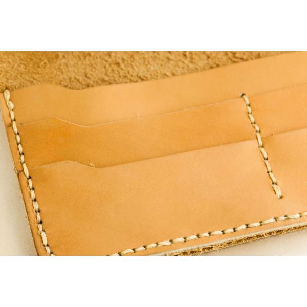 財布 メンズ 本革製 ハンドメイドウォレット 手縫い ビジネス カジュアル兼用使用可能デザイン|swingdog|09