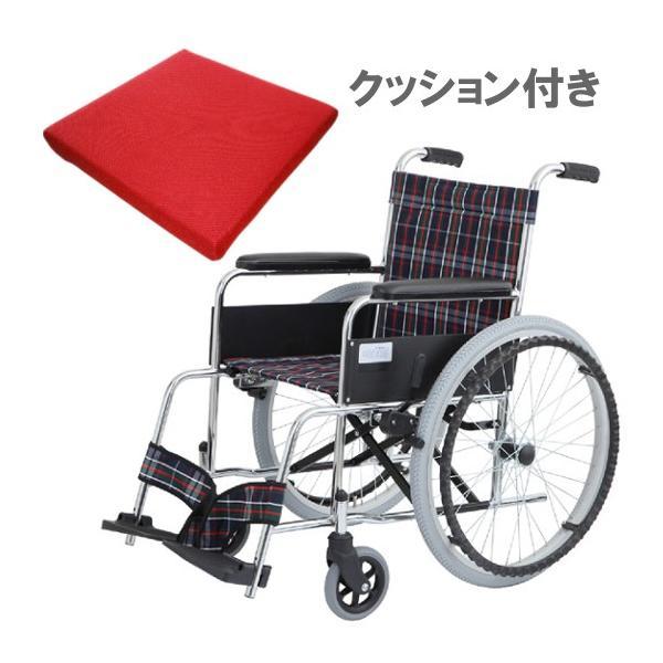 車椅子 車いす MW-22ST 車椅子用クッションセット