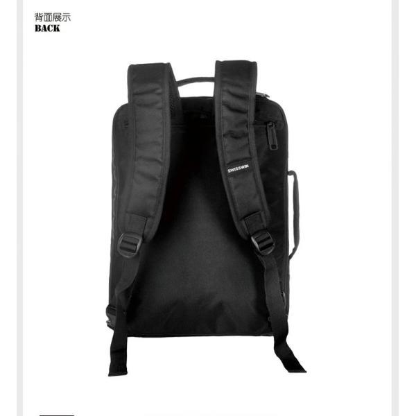 swisswin 3way ビジネスバッグ ビジネスリュック ビジネス バッグ ブリーフケース リュック メンズ 通勤バッグ PCバッグ 軽量 SWE1018|swisswin|12