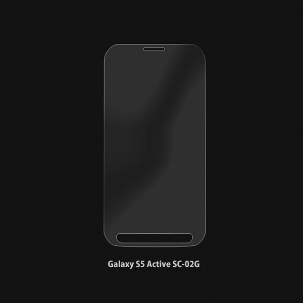 Galaxy S5 Active 強化ガラスフィルム SC-02G ギャラクシーアクティブ 液晶保護フィルム 気泡防止 指紋防止 硬度9H 0.23mm JGLASS|sy-store|02
