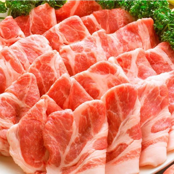 訳あり 豚肩ロース 厚切り スライス 2kg 数量限定 500g×4パック 豚肉 生姜焼き しょうが 炒め物 肩ロース ロース 冷凍 小分け 便利 送料無料 まとめ買い割引