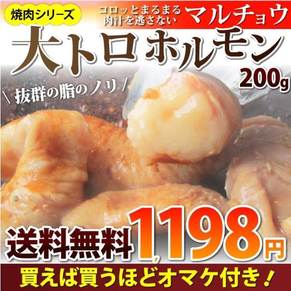 焼肉 牛肉 肉 ホルモン マルチョウ モツ 200g バーベキュー 焼くだけ 簡単調理 お取り寄せ 送料無料