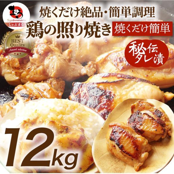 照り焼き チキン 鶏もも 肉 惣菜 メガ盛り 10kg 500g×20 焼くだけ ご飯にも お酒にも 冷凍食品 弁当 送料無料 *当日発送対象