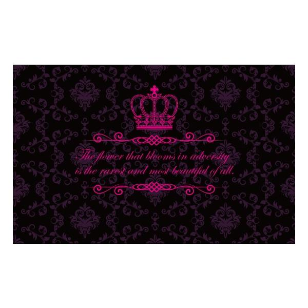 姫系ギャル系ドレスアップカーマット06☆ティアラカワイイアゲハ|syarakugenesis|02