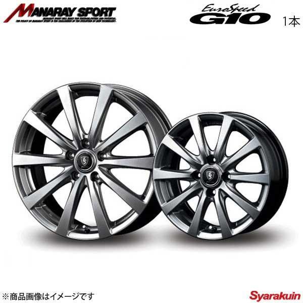 MANARAY SPORT/EuroSpeed G10 アルミホイール 1本 IS C 20系 【16×6.5J 5-114.3 INSET38 メタリックグレー】