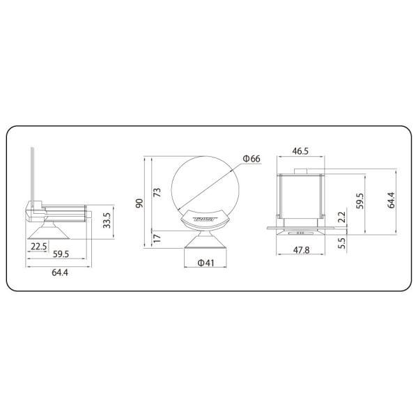 トラスト / TRUST シリウスビジョン + 温度センサー セット 油温計 水温計 追加メーター シリウス|syarakuin-shop|04