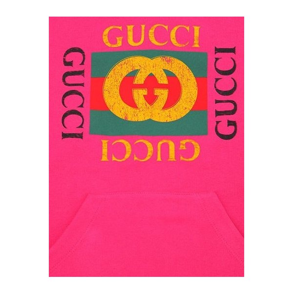 new arrival 2a9a6 a4efb GUCCI グッチ ロゴ キッズ スウェット フードドレス パーカー ...