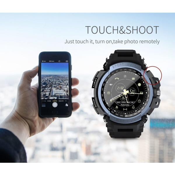 デジアナ Bluetooth スマート スポーツ ウオッチ 歩数計 カロリー消費 着信 SNS通知 5気圧防水 iOS Android対応 synergy2 06