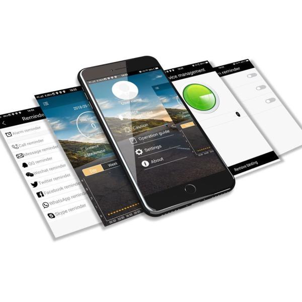 デジアナ Bluetooth スマート スポーツ ウオッチ 歩数計 カロリー消費 着信 SNS通知 5気圧防水 iOS Android対応 synergy2 08