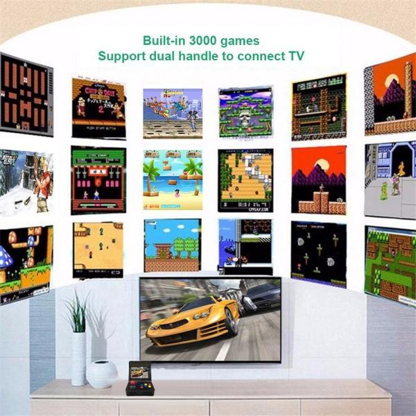 レトロ ゲームコンソール エミュレーター 3000ゲーム内蔵 MP3プレーヤー synergy2 02