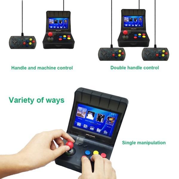 レトロ ゲームコンソール エミュレーター 3000ゲーム内蔵 MP3プレーヤー synergy2 04
