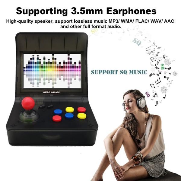 レトロ ゲームコンソール エミュレーター 3000ゲーム内蔵 MP3プレーヤー synergy2 05