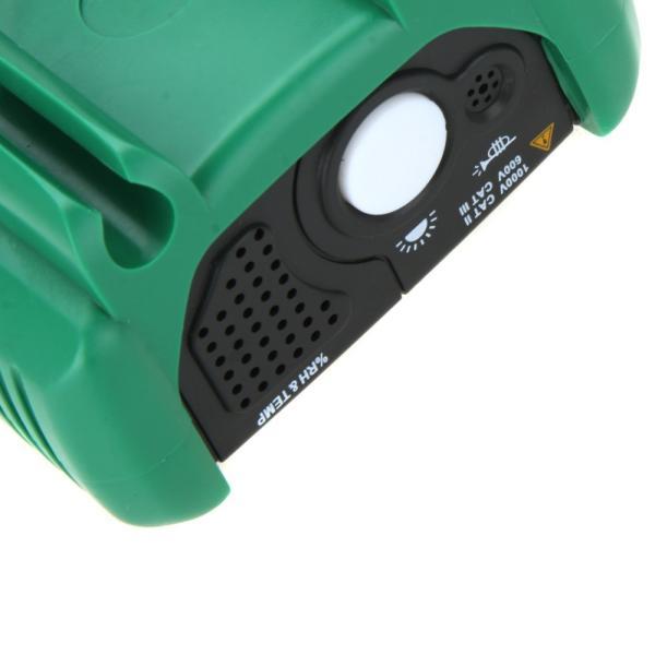 MASTECH MS8229 オートレンジデジタルマルチメーター( 温度計/湿度計/騒音計/照度計付)|synergy2|06