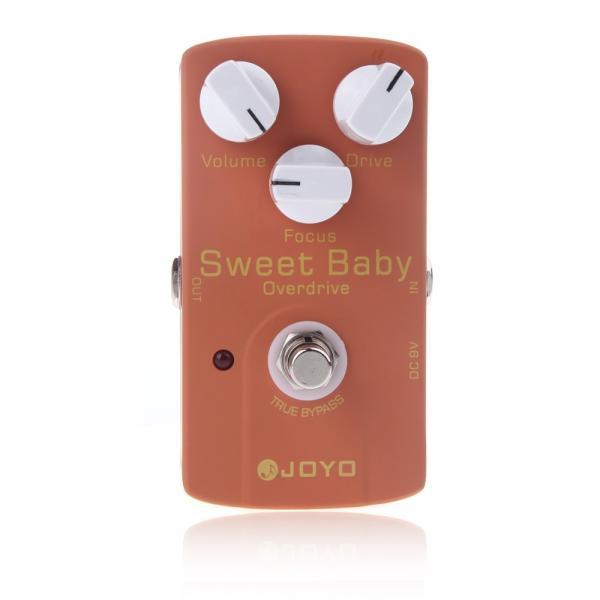 JOYO JF-36 Sweet Baby スイート ベイビー・ギターエフェクター(ローゲイン・オーバードライブ/フォーカス調整つまみ付) synergy2