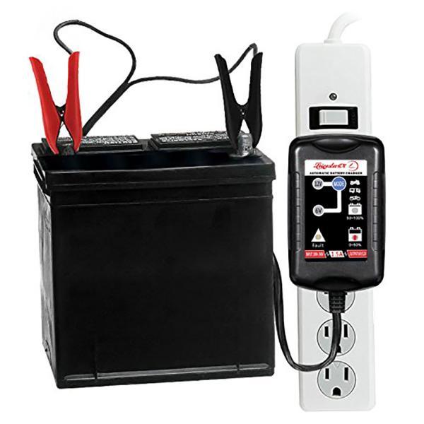 12V/6V 自動車 バイク 船舶 バッテリー 充電器 コンセント オートマチックバッテリーチャージャー|synergy2|10
