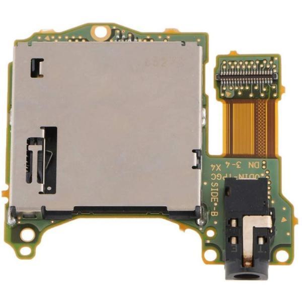 Nintendo Switch対応 ゲームカードスロット ソケットボード イヤホンジャック交換モジュール 互換品|synergy2