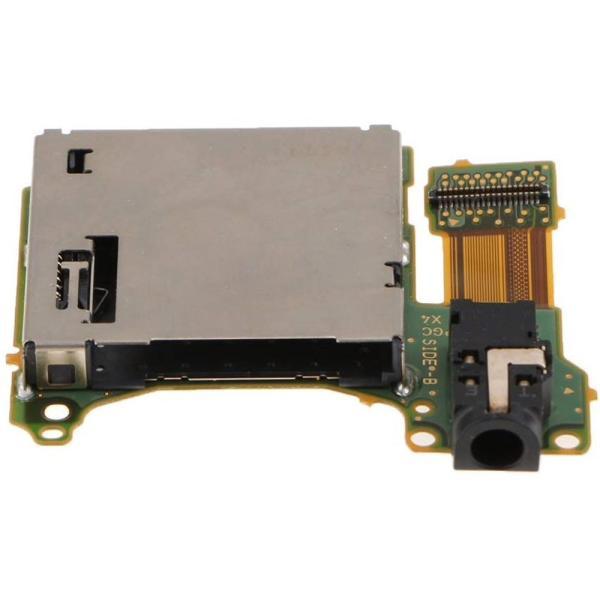 Nintendo Switch対応 ゲームカードスロット ソケットボード イヤホンジャック交換モジュール 互換品|synergy2|02