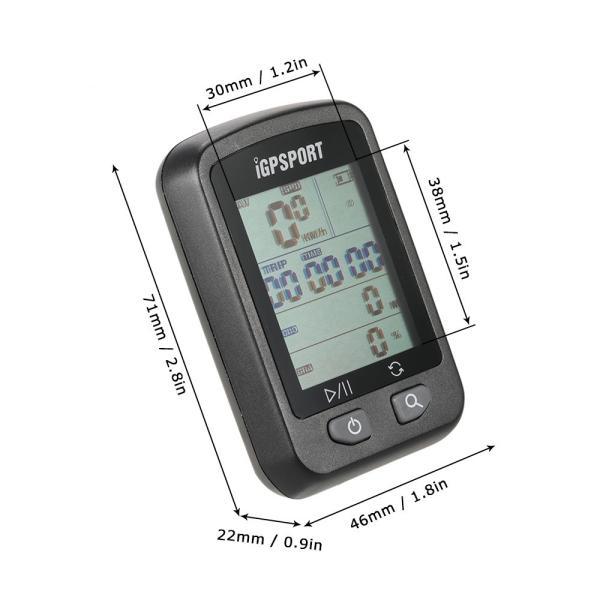 充電式 GPS サイクルコンピューター IPX6防水|synergy2|09