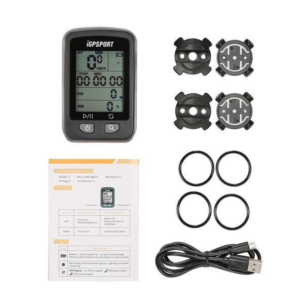 充電式 GPS サイクルコンピューター IPX6防水|synergy2|10