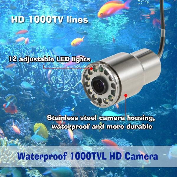 ワイヤレス Wi-Fi 水中魚群探知カメラ フィッシュファインダー   200m iOS Android対応 1000TVL 140°広角レンズ|synergy2|03
