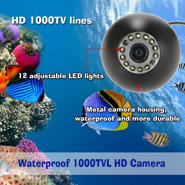 ワイヤレス Wi-Fi 水中魚群探知カメラ フィッシュファインダー   200m iOS Android対応 1000TVL 140°広角レンズ|synergy2|04