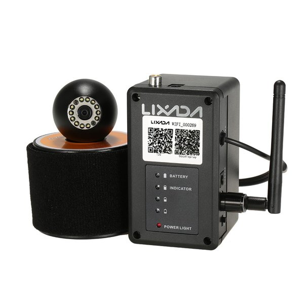 ワイヤレス Wi-Fi 水中魚群探知カメラ フィッシュファインダー   200m iOS Android対応 1000TVL 140°広角レンズ|synergy2|08