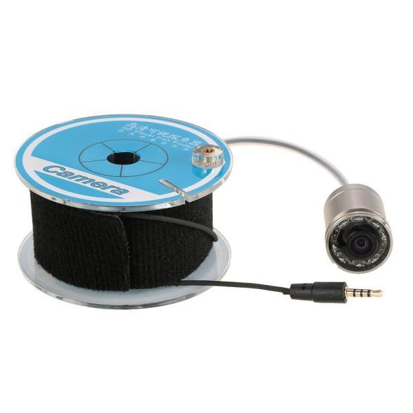 フィッシュファインダー 水中ビ デオカメラ 1000 TVライン 4.3インチ 液晶モニター 15m ケーブル 赤外線 LEDライト x 8