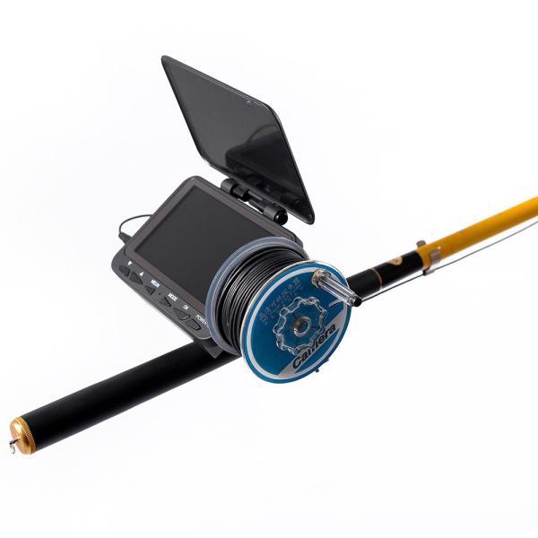 フィッシュファインダー 水中ビ デオカメラ 1000 TVライン 4.3インチ 液晶モニター 15m ケーブル 赤外線 LEDライト x 8|synergy2|08