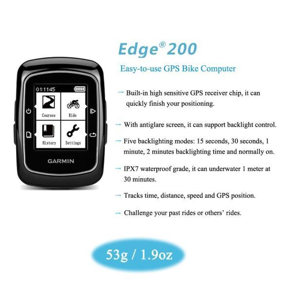Garmin Edge 200 GPS サイクルコンピューター|synergy2|06