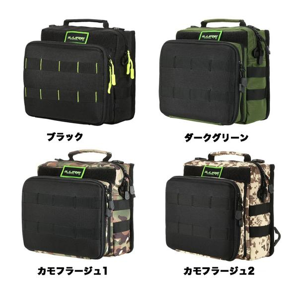 iLURE フィッシングタックルバッグ バックパック クロスボディー メッセンジャー スリングバッグ|synergy2|02